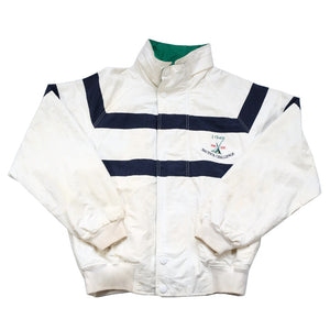 Vintage Nautica J-Class Embroidered Spell Out Jacket - XL