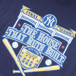 Vintage New York Yankees Graphic T-Shirt - L