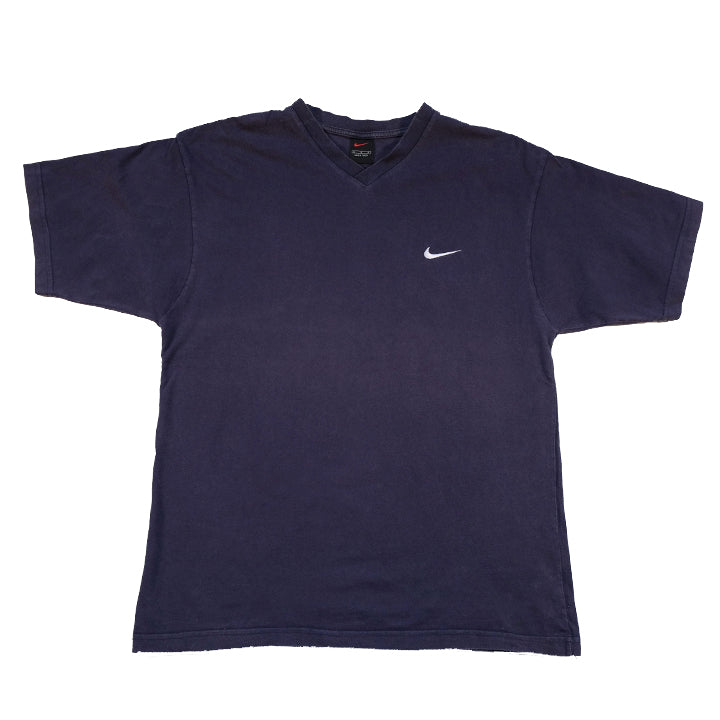 Vintage Nike Embroidered Swoosh T-Shirt - L