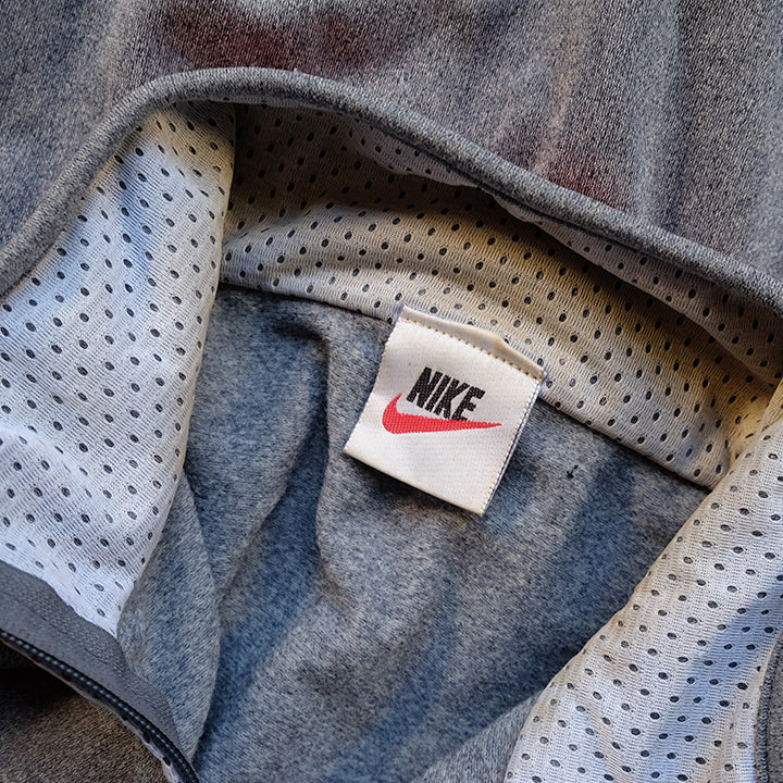 Vintage Nike Embroidered Track Jacket - M