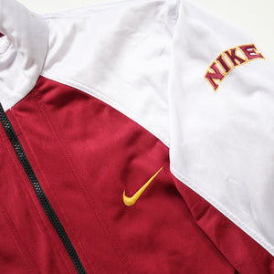 Vintage Nike Embroidered Swoosh Track Jacket - S