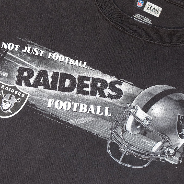 Vintage Oakland Raiders Graphic T-Shirt - L