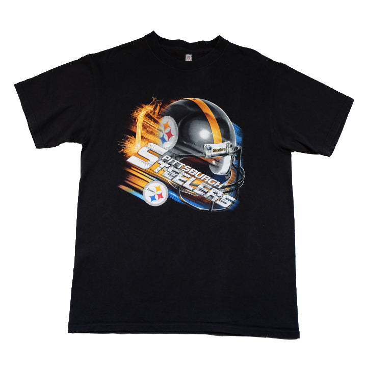 Vintage Pittsburgh Steelers Graphic T-Shirt - M