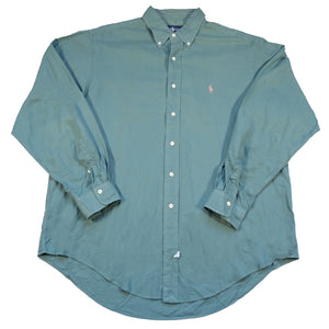 Vintage Polo Ralph Lauren Long Sleeve Button Up - XL