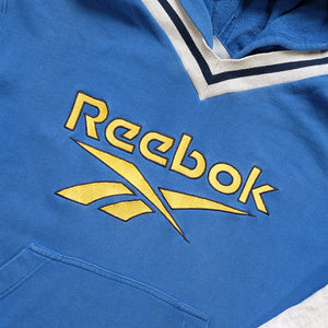 Vintage Reebok Embroidered Logo Sweatshirt - S