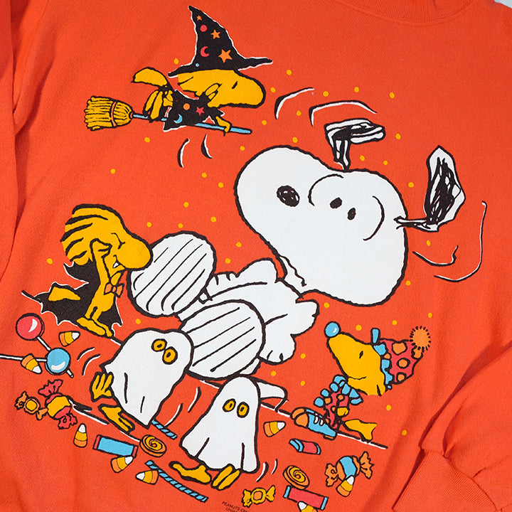 Vintage Snoopy Big Graphic MADE IN USA Crewneck - L/XL
