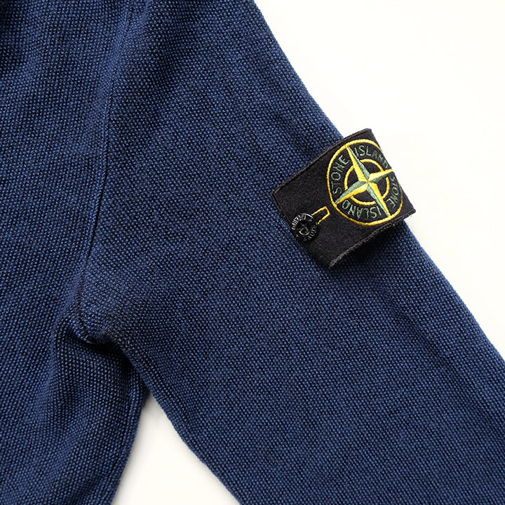 Vintage Stone Island Sleeve Patch Sweater - M