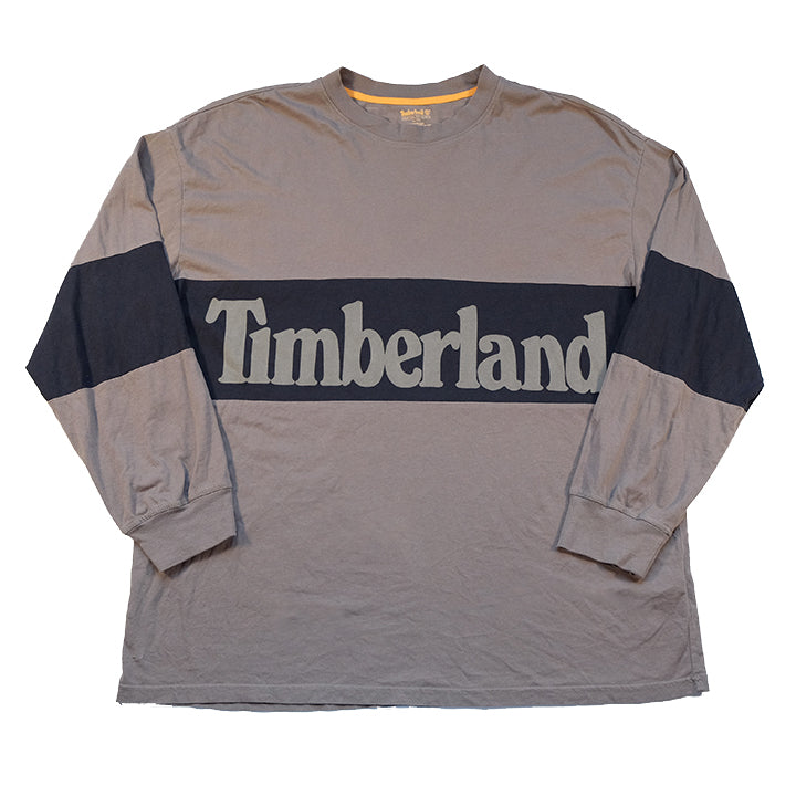 Vintage Timberland BIG Spell Out Long Sleeve - XXL