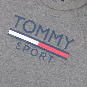 Vintage Tommy Hilfiger Sport WOMENS Spell Out Top - M
