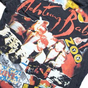 Vintage RARE U2 Achtung Baby Single Stitch T-Shirt - L