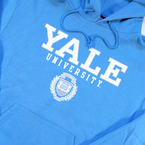 Vintage Champion Yale University Spell Out Hoodie - M