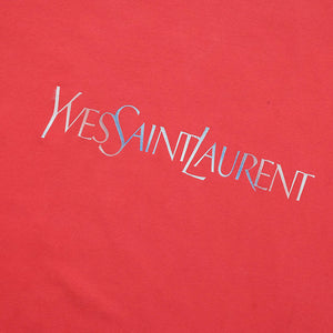 Vintage YSL Yves Saint Laurent Big Spell Out T-Shirt - L