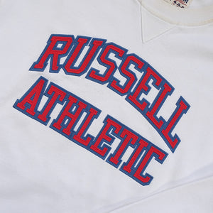 Vintage Russell Athletic Embroidered Spell Out Crewneck - M/L