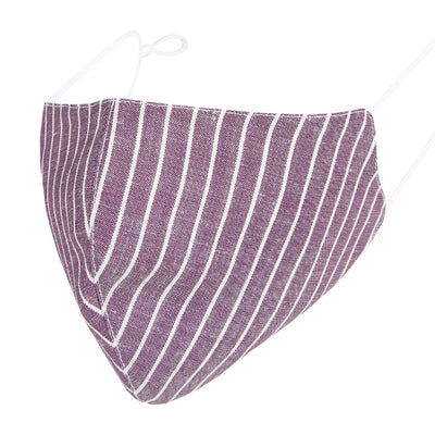 Fashionable Mask - Purple Linen