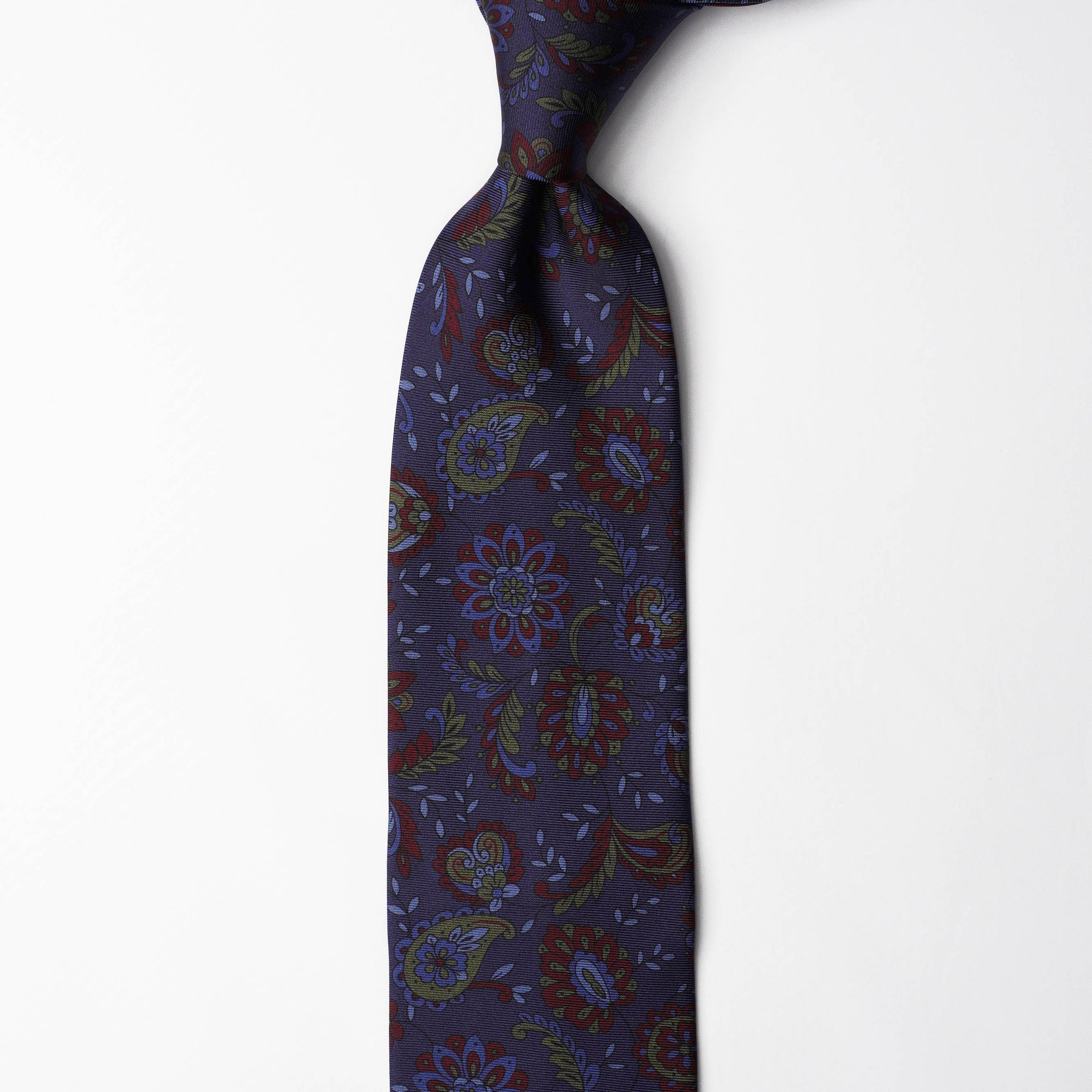 Printed Silk - Floral Blue
