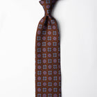 Printed Silk - British Brown
