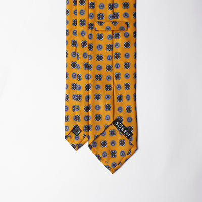 Printed Silk - British Yellow