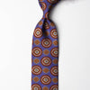 Printed Silk - Lavender Orange