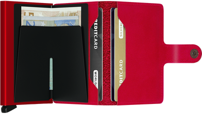 Secrid Miniwallet Original - Red On Red