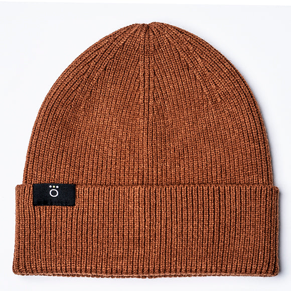 Soren Beanie - Burnt Orange