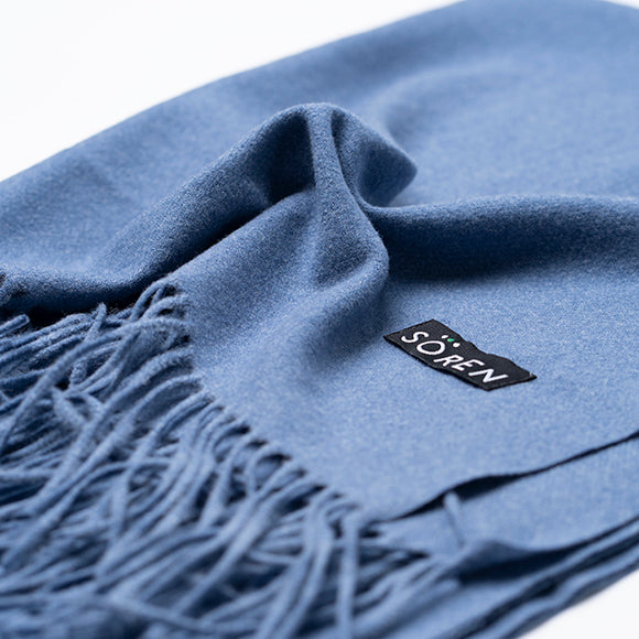 Ultra Soft Scarf - Blue