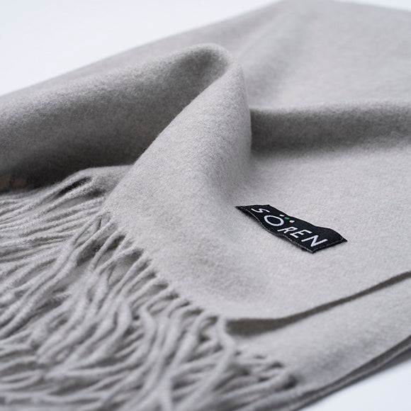 Ultra Soft Scarf - Light Grey