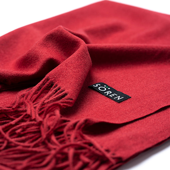 Ultra Soft Scarf - Red