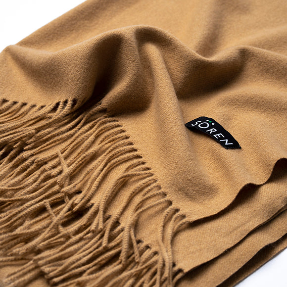 Ultra Soft Scarf - Tan