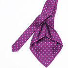 Luxury Seven Fold Silk - Purple