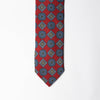 Printed Silk - Royal Red