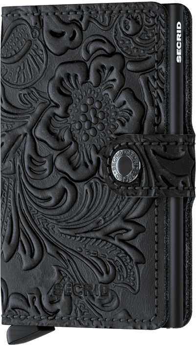 Secrid Miniwallet Ornament - Black On Black