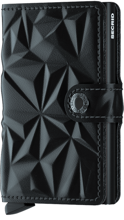 Secrid Miniwallet Prism - Black On Black