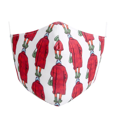 Fashionable Mask - Lady In Red (Medium)