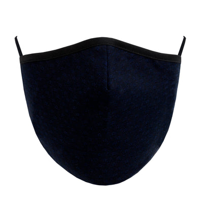 Fashionable Mask - Textured Navy