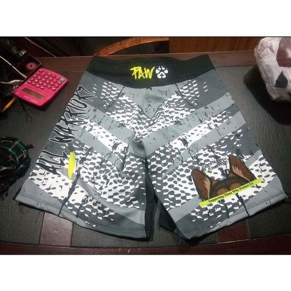 P.A.W. MMA Fight Shorts