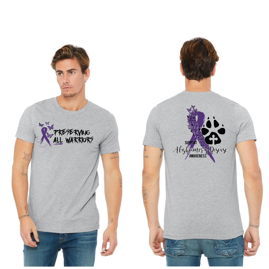 Alzheimer's Disease Support Shirts