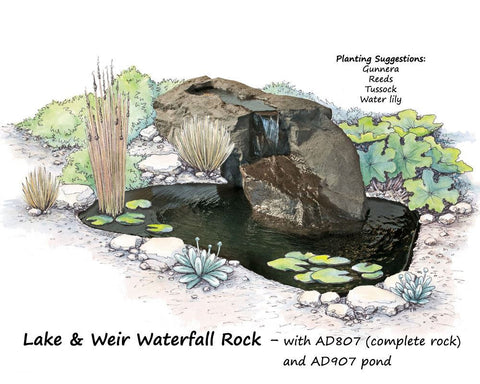 Adwaterfall Rock Basalt Colour