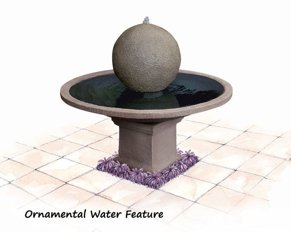 Adwater Ornament Water Features Basalt