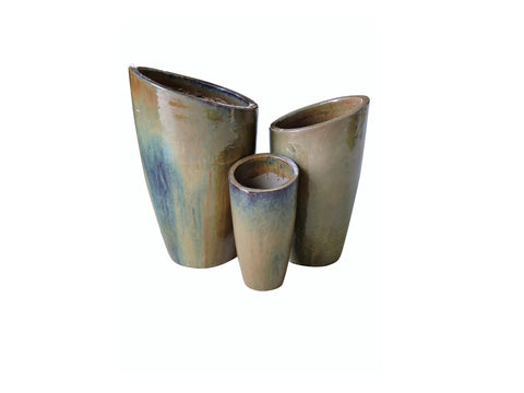 Outdoor Ceramic Antique Harvest, Set of 4