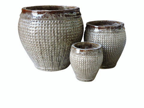 Glazed Misty, Set of 4