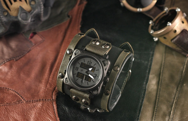 INTRODUCING THE 'SERGEANT' WRISTWATCH