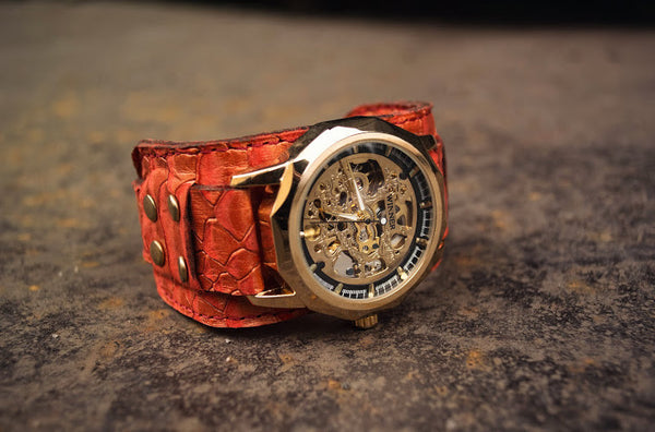 INTRODUCING THE RED DRAGON WRISTWATCH.