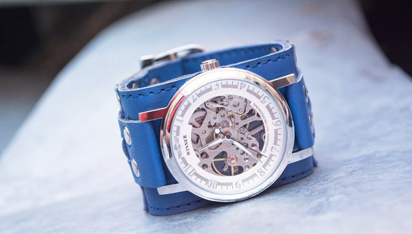 INTRODUCING THE BLUE EAGLE WRISTWATCH