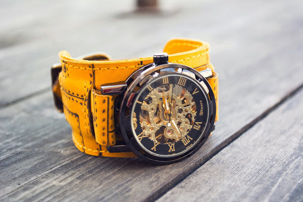 INTRODUCING THE INDUSTRIAL SKELETON WATCH.