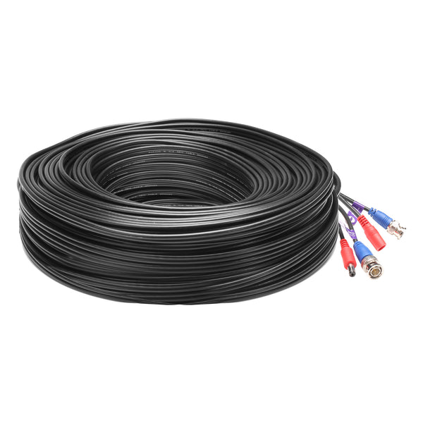 80014-mini RG59 HD Security Camera Cable (200ft)