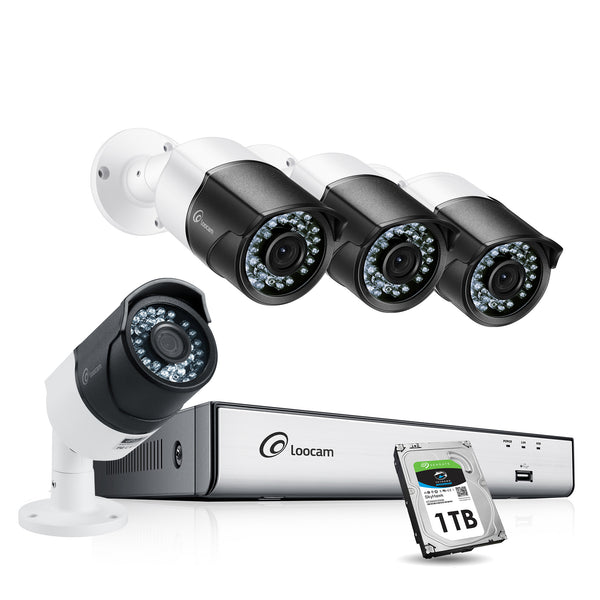 85019T-5MP HD 8-Channel H.265+ Security Camera System
