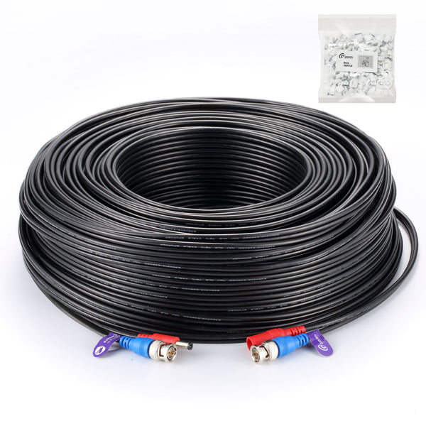 RG59 HD Security Camera Cable (300ft)