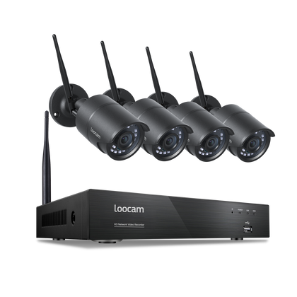 wireless camera system security