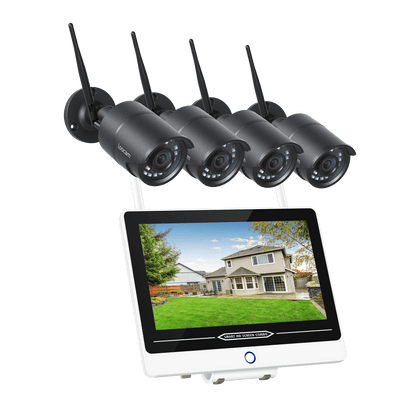 monitor wireless camera system security