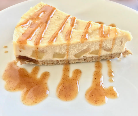 Vegan Apple Cheesecake